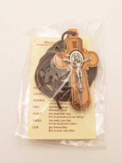 画像3: 聖ベネディクトのクロスペンダント