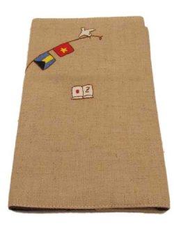 画像2: ハンドメイド新書用ブックカバー 国旗