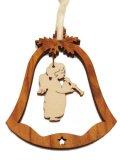 オリーブ製デコレーションオーナメント(Bell/笛天使)