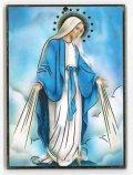 イタリア製板絵 無原罪の聖母