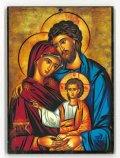 イタリア製板絵 聖家族