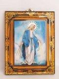 壁掛け板絵(無原罪の聖母)