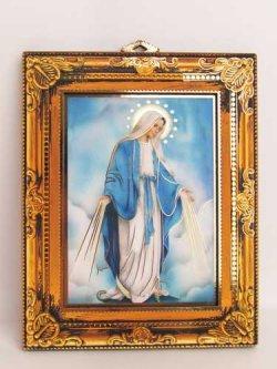画像1: 壁掛け板絵(無原罪の聖母)