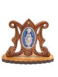オリーブ製無原罪の聖母卓上飾り ※返品不可商品