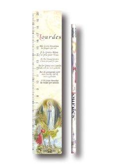 画像1: 定規と鉛筆(ルルド) ※返品不可商品