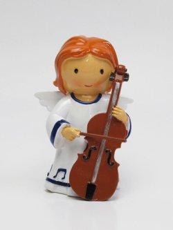 画像1: 聖像 Angel with Cello(天使とチェロ)