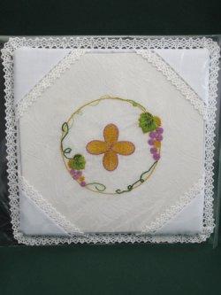 画像1: 典礼聖具パラ (クロス・紫葡萄)