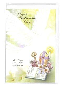 画像1: 二つ折りカード堅信(On your Confirmation Day)  ※返品不可商品