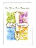 二つ折りカード初聖体(First Communion)  ※返品不可商品