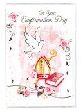 二つ折りカード堅信(ピンク・Confirmation)  ※返品不可商品