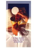 霊的聖体拝領の祈り  (3枚セット) ※返品不可商品