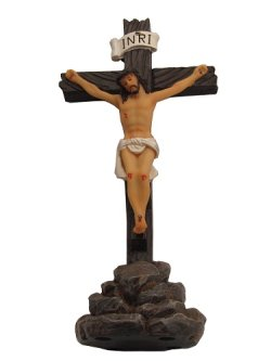 画像1: 聖像 十字架上のイエス ※返品不可商品