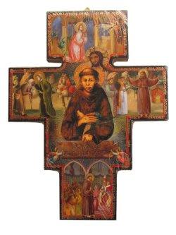 画像1: 聖フランチェスコの十字架 ※返品不可商品