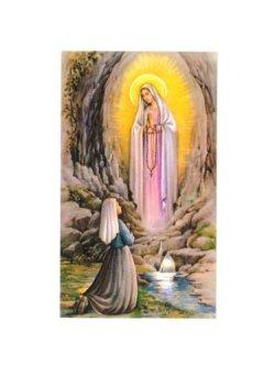 画像1: ご絵  ルルドの聖母とベルナデッタ  (10枚セット) ※返品不可商品