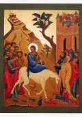 イコンポストカード(エルサレム入城) ※返品不可商品