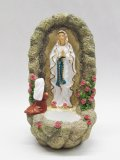 レジン製聖水入れ(ルルドの聖母とベルナデッタ) ※返品不可商品
