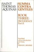 Saint Thomas Aquinas-Summa contra gentiles-Book three: Providence (Part 2)