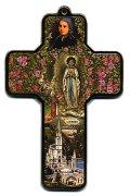 ルルドデコパージュ十字架