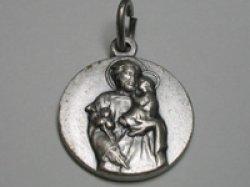 画像1: 聖ヨセフのメダイ
