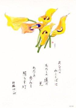 画像1: 花と祈りポストカード カラー (5枚組)