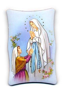 画像1: ルルドの聖母卓上板絵